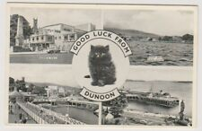 Argyllshire postcard - Good Luck from Dunoon (Multiview) - (A454)