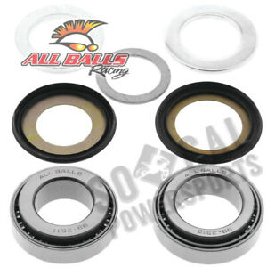 1970-1972 Honda SL350 Dirt Bike All Balls Steering Stem Bearing Kit