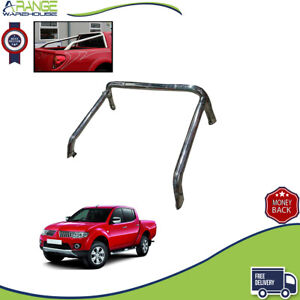 Fit Mitsubishi L200 2005 - 2015 Stainless Steel Sports accessories Roll Bar chro
