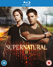 Supernatural - Season 8 Complete [Region Free] (Blu-ray)