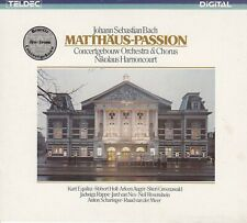 BACH: MATTHÄUS-PASSION, CONCERTGEBOUW ORCHESTRA & CHORUS, HARNONCOURT / 3 CD-SET