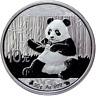 10 Yuan China 2017 Panda Bull&Bear Black & White 2017 30g Silber 0.999