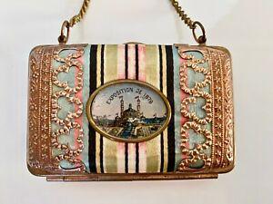 Antique 1878 Paris Exposition Souvenir Purse