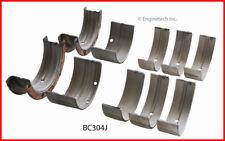 Engine Crankshaft Main Bearing Set ENGINETECH, INC. BC304J010