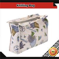 Yarn Storage Bag Knitting Tote Bag Fabric Crochet Knitting Tool Yarn Organizer