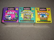 New Lot of 3 Brain Box University Games abc Pictures and Once Upon a Time