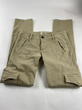 Dylan George Cargo Twill Skinny JEANS Pants Size  28 Womens KAKKY PREOWNED.