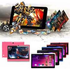 "7"" Android 4.4 8GB Dual Cameras Quad Core WiFi Kids Child Tablet PC For Gifts XN"