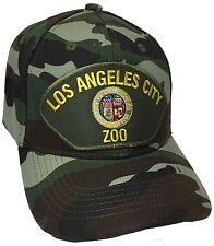 City Of Los Angeles ZOO Hat Color Camo Adjustable