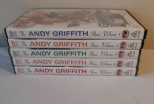 THE ANDY GRIFFITH SHOW Volumes 1-5 DVD bundle Region 4  (3-5 still sealed )
