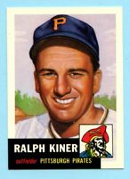 1953 Topps Archives #191 Ralph Kiner - Pittsburgh Pirates