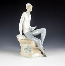 Vintage Lladro Porcelain Figurine Hebrew Student 4684, Glossy finish, Retired