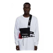 ACW A-COLD-WALL* Black Canvas Utility Shoulder Bag Crossbody Bag Pouch Men Women