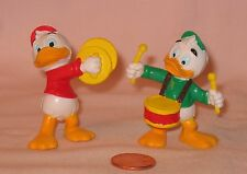 Disney Ducktales Huey & Louie Playing Music Instrument PVC Figures; Bullyland