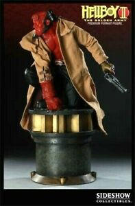 SIDESHOW HELLBOY GOLDEN ARMY PREMIUM FORMAT SHIPPER SEALED STATUE NEW GEM RED
