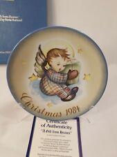 1984 Hummel Christmas Plate Inspired By Sister Berta Hummel Schmid West Germany