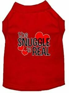 The Snuggle is Real Screen Print Pet Puppy Cat Dog Shirt