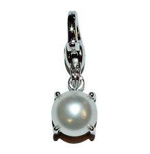 """Habillées véritable TI SENTO Charming 925 argent & Faux Pearl """"Brillant Perle"""" CHARME"""