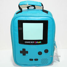 Nintendo GameBoy Color BLUE GREEN School Lunch Bag Box Insulated Cooler Bag NWT