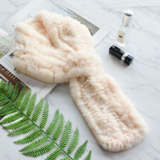 PUDI Women real rabbit fur scarf ring wrap rabbit fur long scarves rings sf842