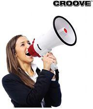 Megaphone Bullhorn With Siren 30 Watt Powerful and Lightweight