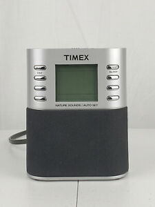Timex T307S Duel Alarm Clock Radio, TESTED and works