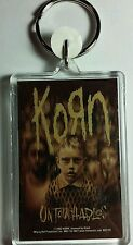 AS-IS KORN KIDS UNTOUCHABLES BROWN  KEY CHAIN KEYCHAIN