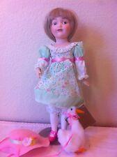 Franklin Heirloom dolls - Goose Girl