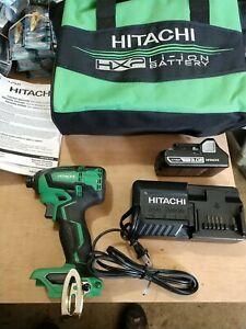Hitachi 18V Cordless Brushless Impact Driver Kit WH18DBFL2S