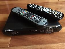 ARRIS FRONTIER SET TOP TV BOX RECEIVER Model:VIP2502W Power Adapter + 2 Remotes!