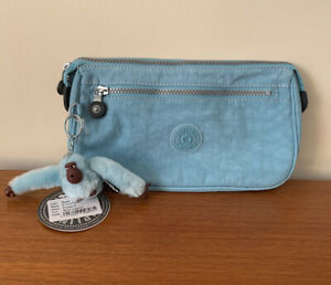 Kipling New With Tags Puppy S Toiletry Bag In Blue Lagoon.