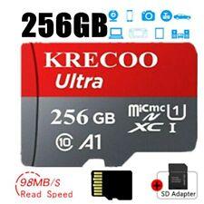 256 GB Speicherkarte Class 10 98MB/s High-Speed TF Card Handy Für Micro FORMAT