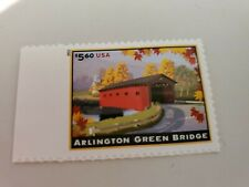 Us Scott # 4738 Priority Mail Corner Single Stamp Mnh, Arlington Green Bridge