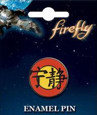 Firefly Serenity Chinese Emblem Logo Symbol Enamel Pin 51027F