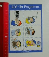 Decal/Sticker: ZDF your program Mainzelmännchen (23051693)