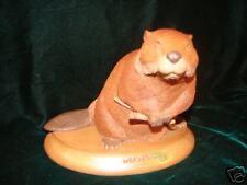 Retired Tom Clark Wolfe 1996 Beaver Figurine - Weaver The Beaver  # 9122 ~ gift