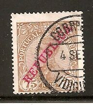 Portugal Stamps- Scott # 177/A62-75r-Canc/H-1910-Overprinted