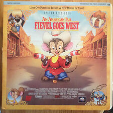 Fievel Goes West  An American Tail   CLV Extended Play Laserdisc 41067