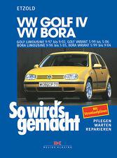 VW GOLF 4 1997-2003 BORA VARIANT REPARATURANLEITUNG SO WIRDS GEMACHT 111