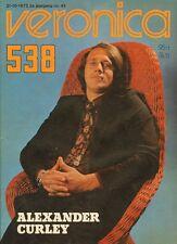 VERONICA 1972 nr. 43 - VINEGAR JOE / FREDDY / ALEXANDER CURLY  / MARLON BRANDO