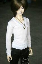 [wamami] 06# White T-Shirt Outfit SD17 DZ70 70cm BJD Dollfie Doll