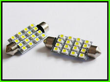 C10W 264 42MM 16 SMD LED NUMBER PLATE INTERIOR bulbs HONDA