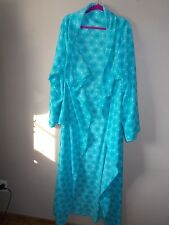 Fashion Bug Womens One Size Fits All Multi-Color Light Blue Unique Blanket Robe