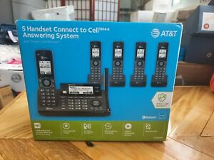 AT&T 5 Handset Connect to Cell Phone System