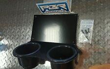 Yamaha Rhino 2 JUMBO Cups Drink Holder utv black powder coated