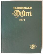 IL GIORNALE DEI MISTERI  raccolta rilegata anno 1971 completa OTTIMO