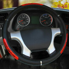 15''Car Steering Wheel Cover Anti-slip PU Leather Protector