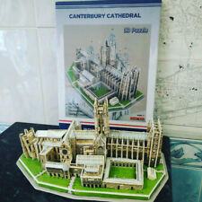 Canterbury Cathedral Jigsaw 3D Puzzle UK Kent Fun Educational Toy Gift Lockdown