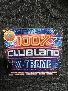 100% CLUBLAND X-TREME - CD album (4 CDs, 76 tracks - New & sealed)