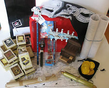 Pirate party treasure box enough for 12 children - almost everything you need